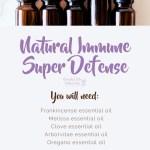 Natural Immune Super Defense essential oil recipe