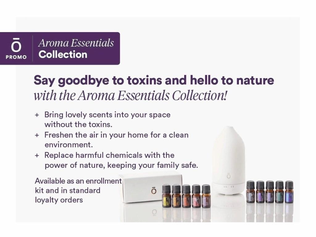 doTERRA Kit Aroma Essentials Information