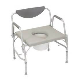 Bariatric Drop Arm Commode, EACH