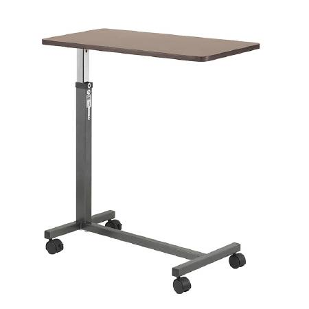 Non Tilt Overbed Table With Adjustment Handle, 28″-45″, EACH