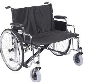 30″ Sentra EC Heavy Duty Extra Wide Wheelchair With Desk Arms EACH