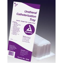 Intermittent Urethral Catheter,Latex Free Tray,CASE OF 20