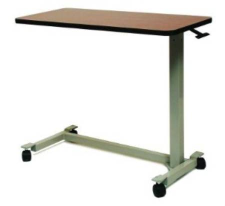 Over Bed Table With Low Base And Low Height Rise, 21″-32″ Without Top, EACH