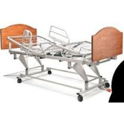 Electric Low Bed, Package Liberty W/ Head/Foot Board+Siderails
