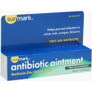 Bacitracin First Aid Antibiotic Ointment, 1 Oz