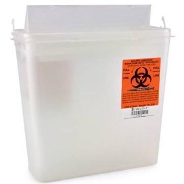 5 Quart Prevent 2- Piece Sharps Container, CASE OF 20