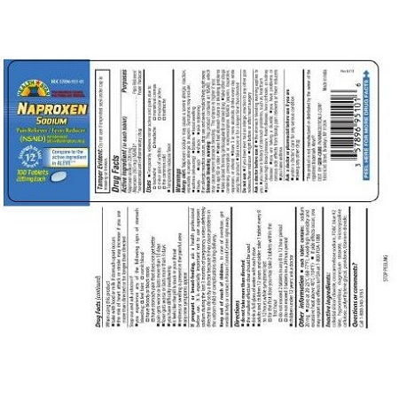 Pain Relief Naproxen 220 Tablet, BOTTLE OF 100