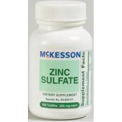 Zinc Sulfate 220mg Tablet, CASE OF 1200