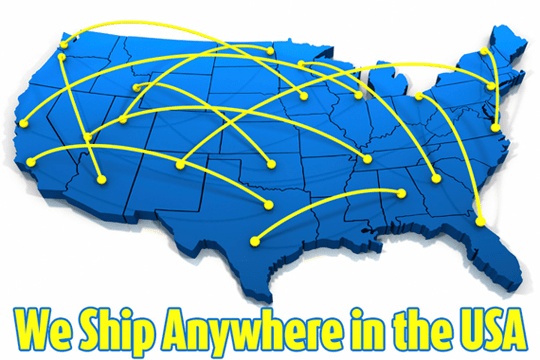 We Ship Anywhere in the USA
