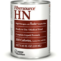 Fibersource HN Can, Unflavored, 8oz,CASE OF 24