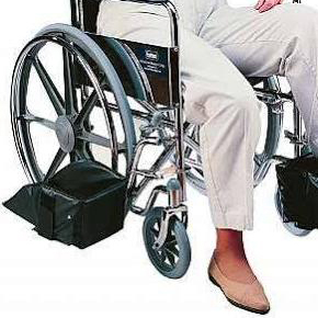 Swing Away Footrest Foot Support, EACH