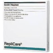 Replicare Hydrocolloid Dressing,1 1/2″x2 1/2″,Rectangle,BOX OF 30