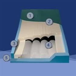 Bed Mattress PressureGuard APM Alternating Pressure Mattress 35