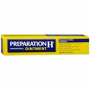 Hemorrhoid Relief Preparation H Ointment Tube