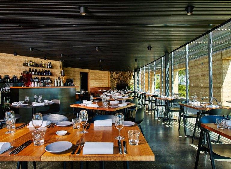 The dining room at TarraWarra