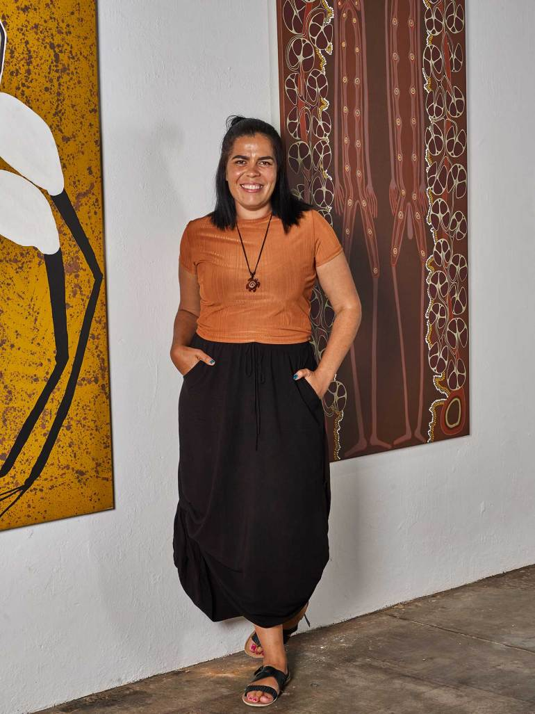 Far North Queensland artist Tarsha Davis