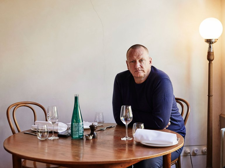 Chef Ian Curley of Melbourne's The French Saloon