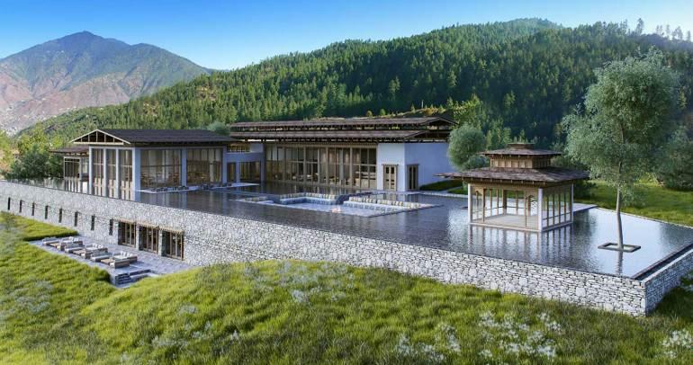 Thimphu Villa, Six Senses, Bhutan