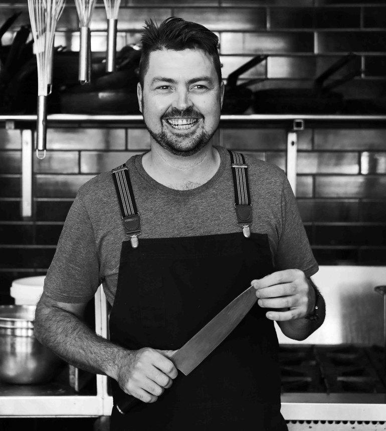 Chef owner Pete Cutcliffe