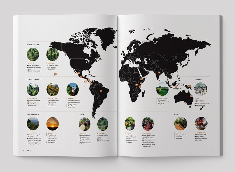 Mapping coffee origins the world over