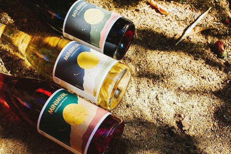 2018 Sangiovese Syrah, 2018 Chardonnay and 2019 Sangiovese Rosato