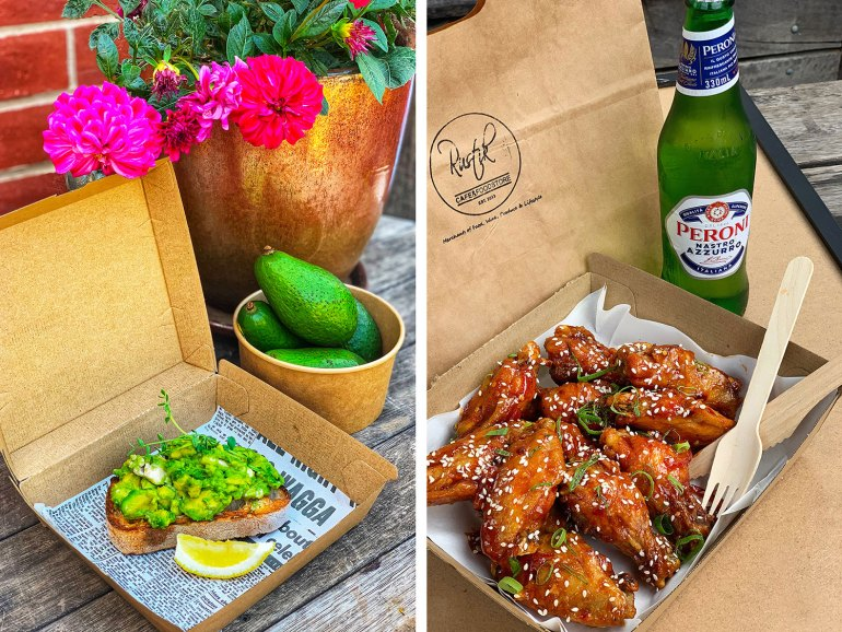 Rustik Café & Foodstore's takeaway/home delivery menu has been an instant hit