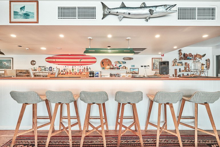 The Surf House features Byron Bay's only rooftop bar – The Rooftop