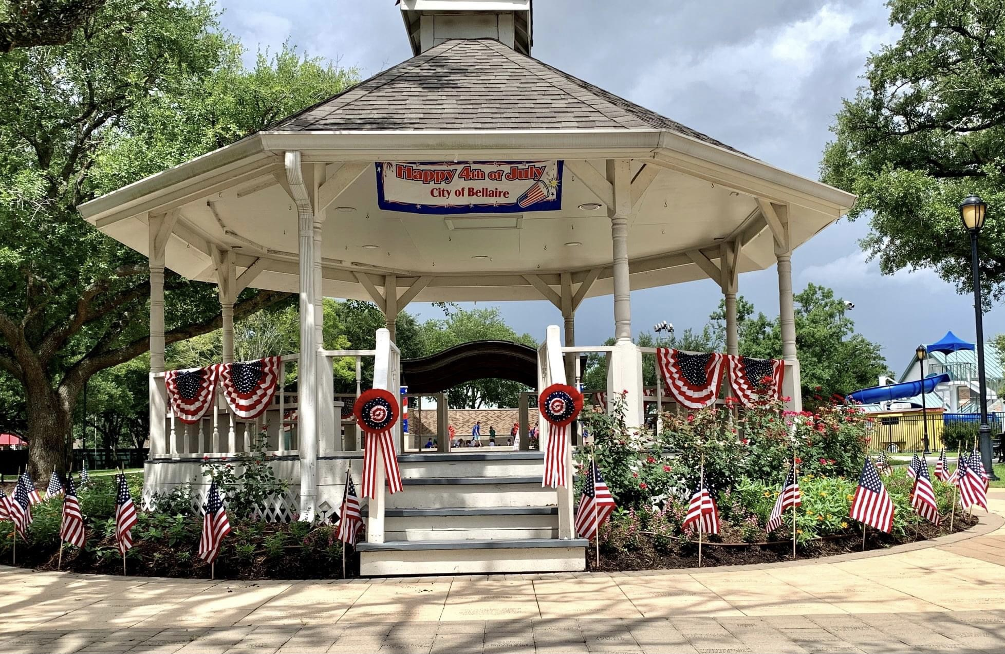 Bellaire's Independence Day festivities are back (weather permitting); offices closed Monday