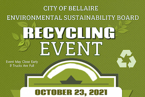 Can't recycle it curbside? Upcoming Bellaire collection might be the answer