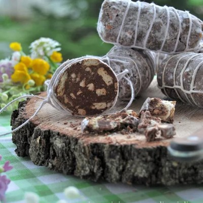 Salamini di cioccolato al latte…free eggs