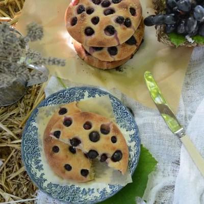 Focaccine dolci di farro all'uva e t&m n 16!