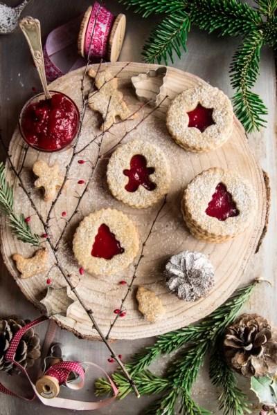 Biscotti integrali con grano saraceno e mandorle