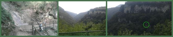 Pozzo Tondo, Terrazza Panoramica con dettaglio della Grotta Preistorica