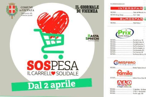La risposta del Comune di Vicenza all'emergenza cibo Covid19