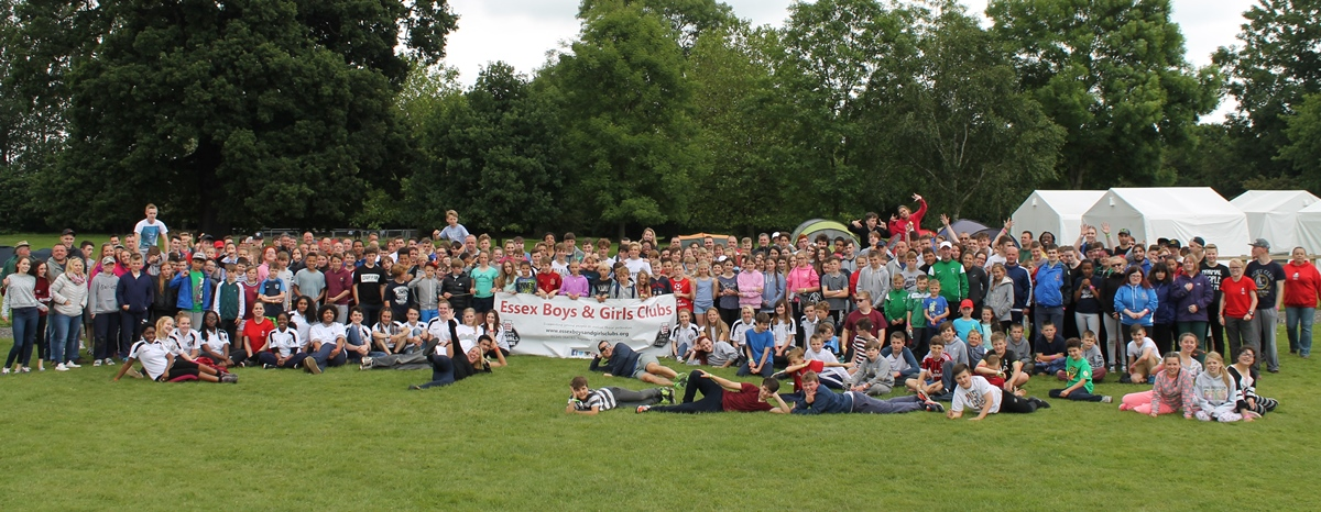 Group photo of clubs at the Essex Adventure Weekend 2016