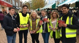 Volunteering at Chelmsford Christmas Lights Switch On
