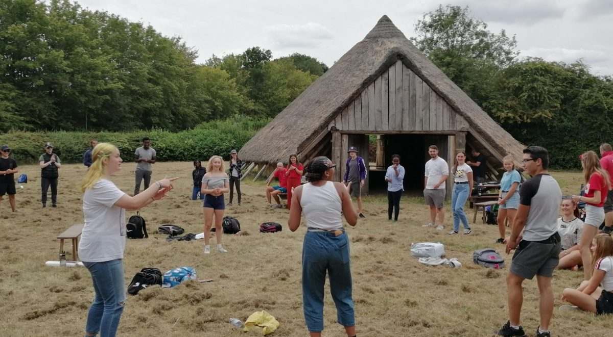 NCS Summer 2020 outside Roundhouse