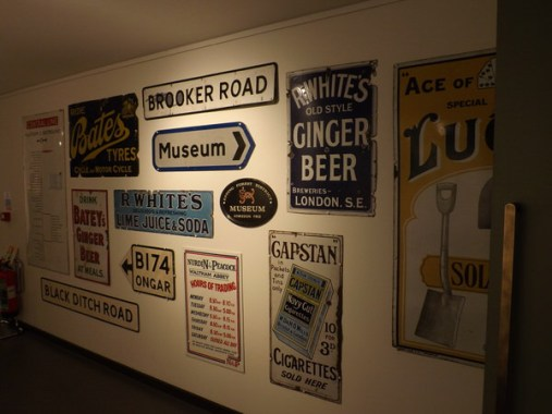 Epping Forest District Museum - signage
