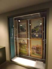 Epping Forest District Museum - window to view posters from stacks