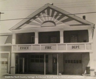 Essex Fire House Essex, NY (Image Credit: Allan Seymour Everest. Our North Country Heritage: Architecture Worth Saving in Clinton and Essex Counties. 135)
