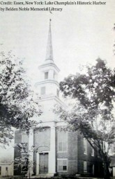 Baptist Church in Essex, NY. It was destroyed in a 1943 fire.