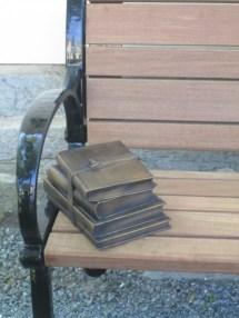 Wes Vanderhorst Memorial Bench--books