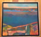 Edwin Douglas Painting of Lake Champlain from Beggs Park