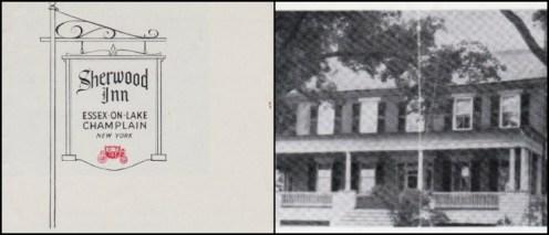 Sherwood Inn Collage