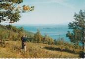 Postcard: Looking at Schuyler Island (Credit: Dean Color, Glens Falls, NY)