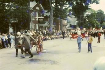 Essex Memorial Day Parade 1972: Canon & WCS Marching Band (Credit: Harry and Judy Koenig)