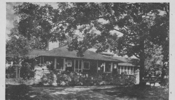 Vintage Postcard: Crater Club | Essex on Lake Champlain
