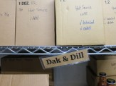 Hub on the Hill: Dak & Dill Hot Sauce storage (Source: virtualDavis)