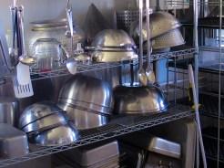 Hub on the Hill: cookware in collaborative kitchen (Source: virtualDavis)