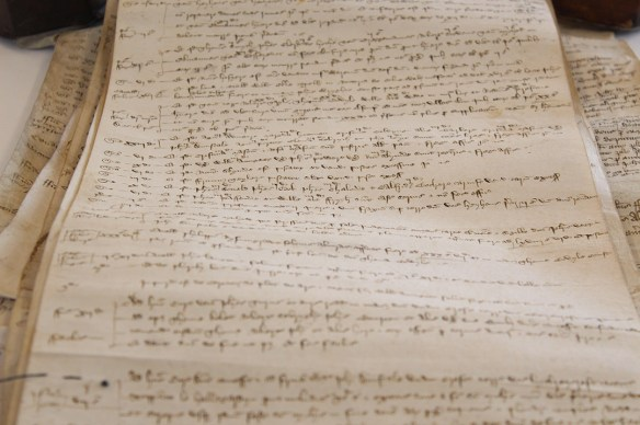 Earls Colne manorial court record 1415
